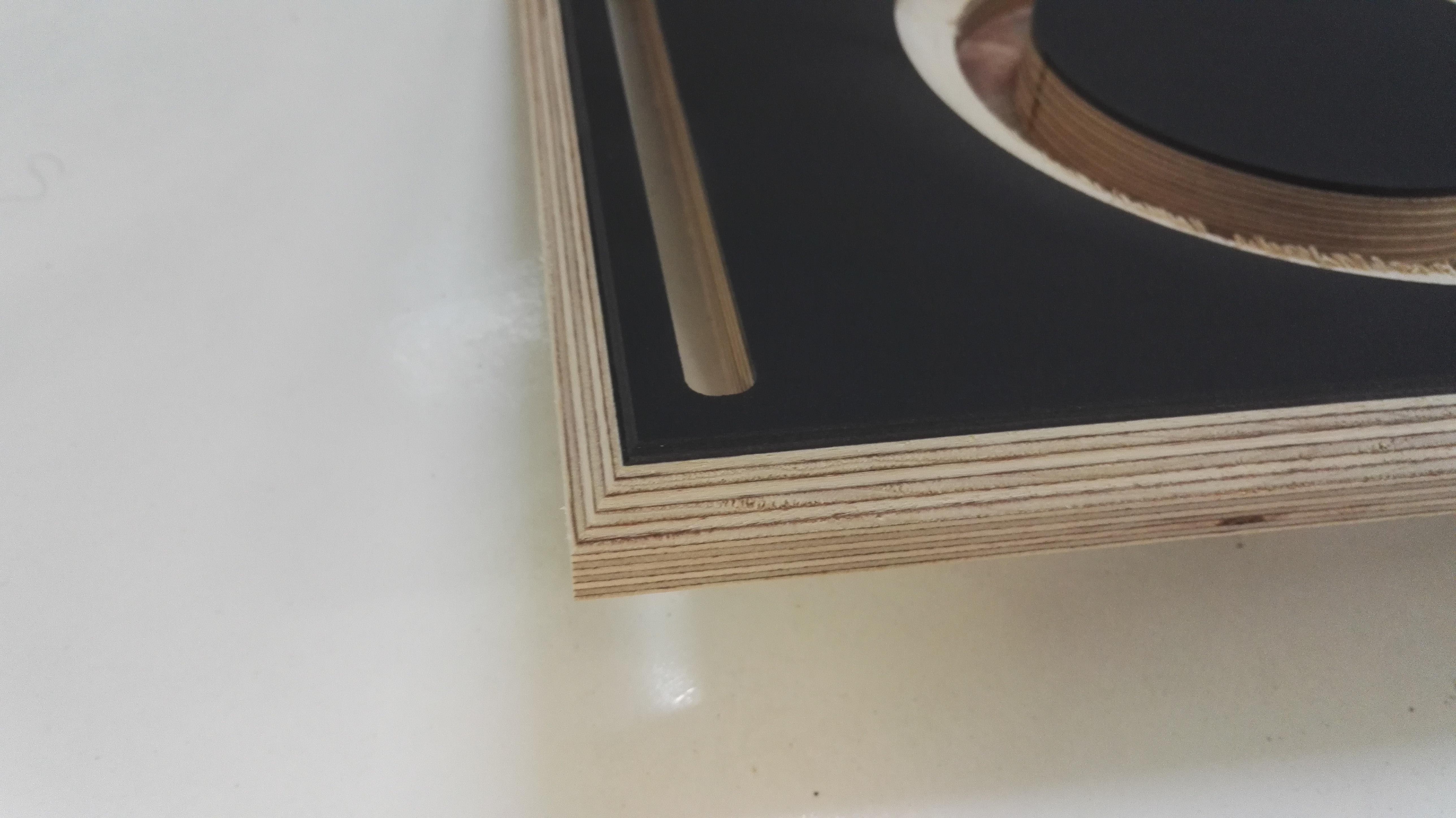 lautsprecherbau thomaier schallwand zuschnitt birke multiplex 18mm mit linoleum schwarz belegt. Black Bedroom Furniture Sets. Home Design Ideas