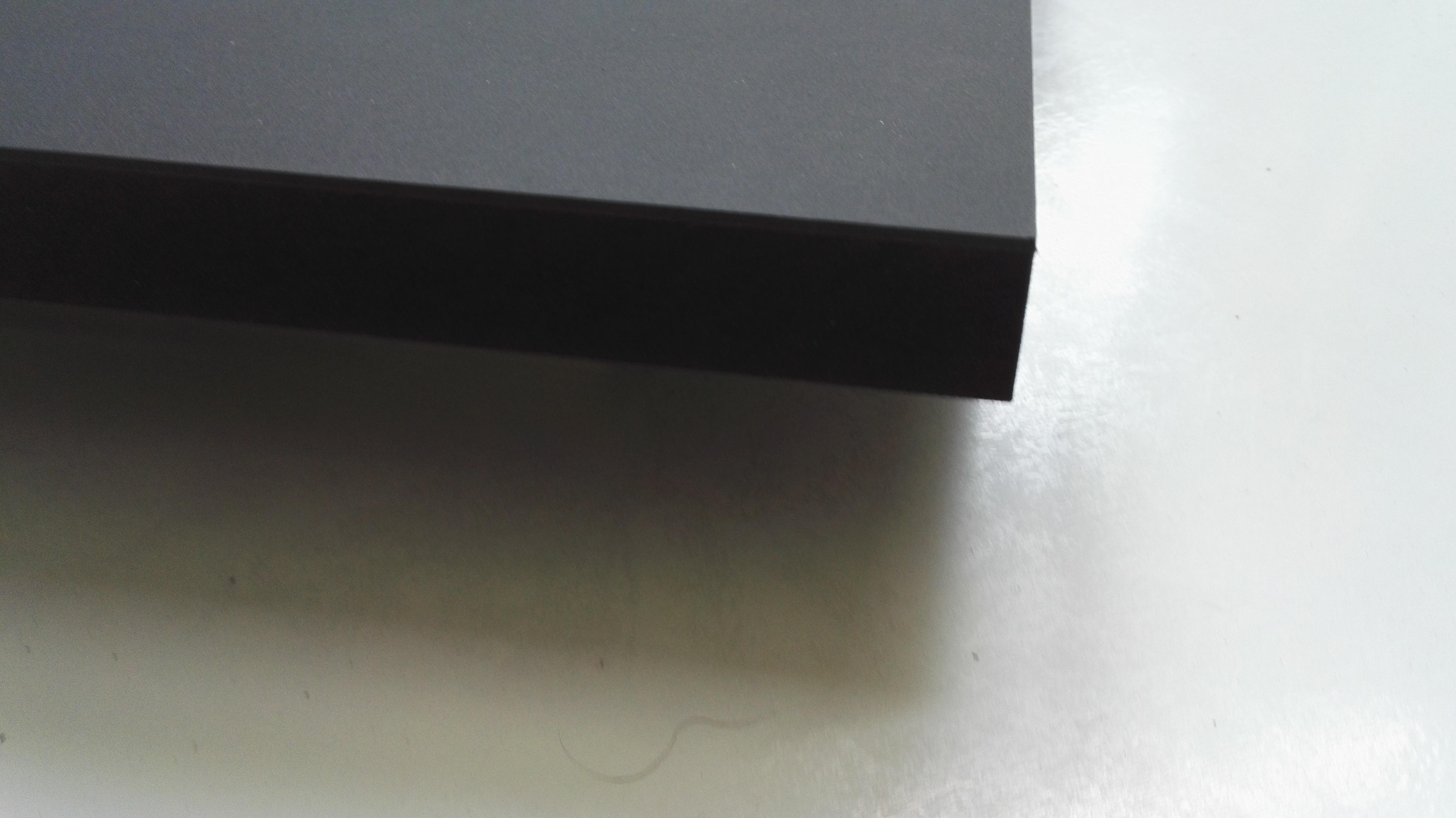 Lautsprecherbau thomaier schallwand zuschnitt mdf schwarz 19 mm einseitig mit linoleum schwarz - Linoleum schwarz ...