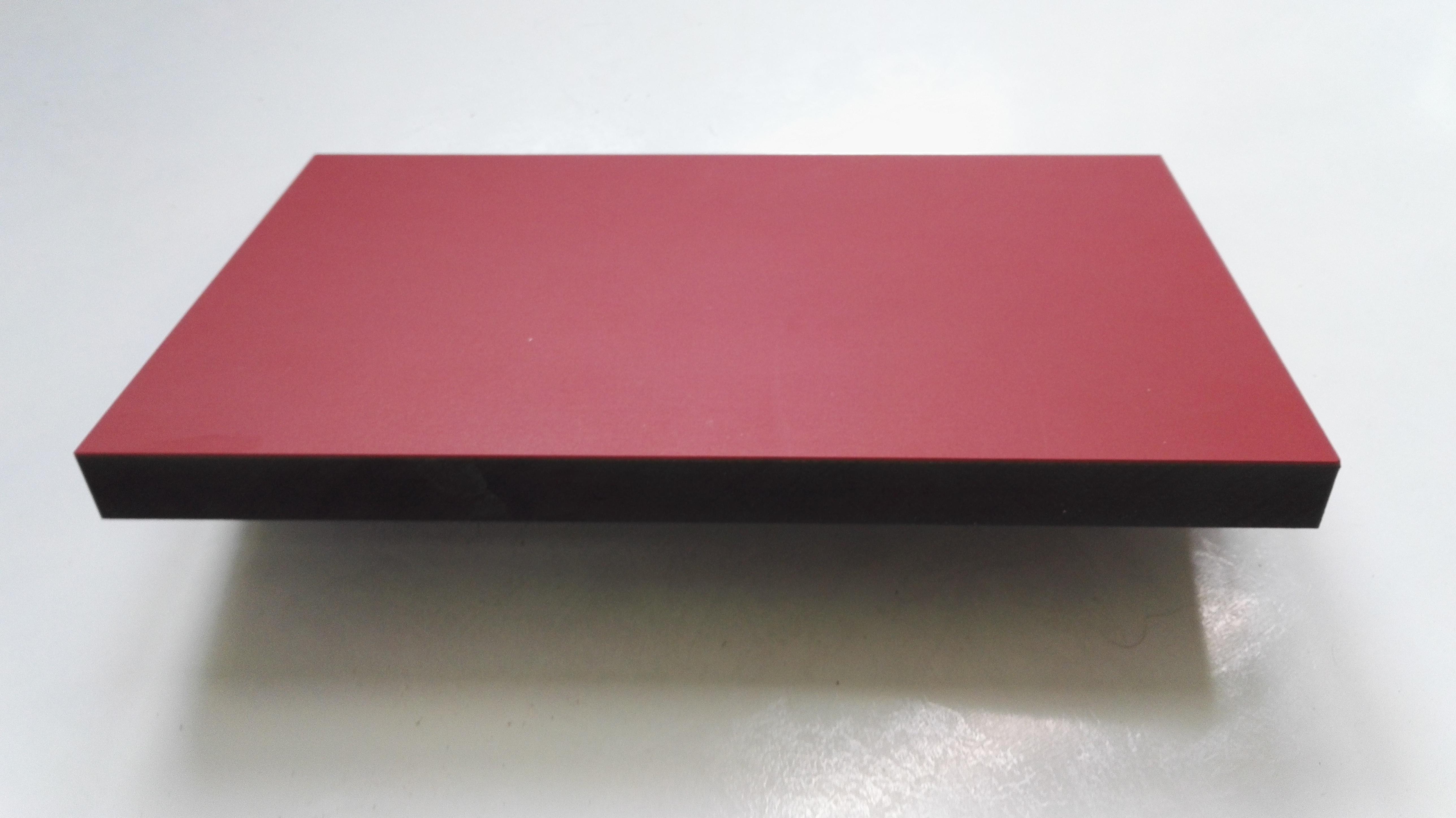 lautsprecherbau thomaier schallwand zuschnitt mdf schwarz 19 mm einseitig mit linoleum rot belegt. Black Bedroom Furniture Sets. Home Design Ideas